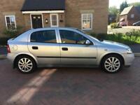 2002 Vauxhall Astra 1,8 litre 5dr automatic 12 months mot