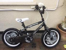 "Boys Storm Trooper 14"" frame bike"