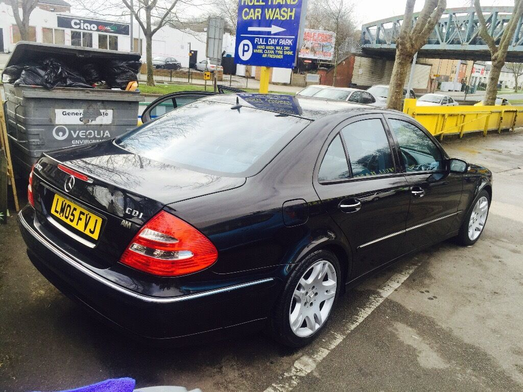 For sale 05 plat Mercedes E class 320 diesel automatic Run and drive perfect in perfect condition