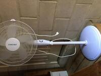 Oscillating floor fan for parts