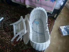 Baby cot bed used but very good condition