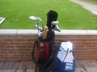 Ladies Golf Clubs and trolley
