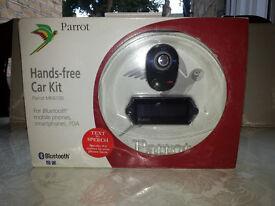 Parrot Hands free Car Kit Bluetooth MK6100 mobile phones, smartphones