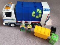 playmobile bin lorry