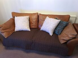 NEXT Real Leather Sofas