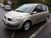 AUTOMATIC RENAULT SCENIC PRIVILEGE 1.6 VVT AUTO ONLY 55000 WITH HISTORY EXCELLENT CAR/MPV PX WELCOME