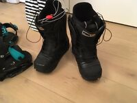 Burton 'Emerald' Black Snowboard Boots - size 7 (but fits more like a size 6)