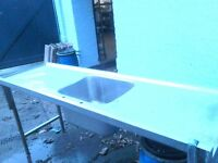 Catering Stainless steel Sink Double Drainer