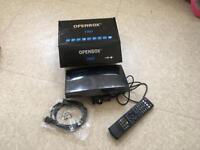 Satellite tv box