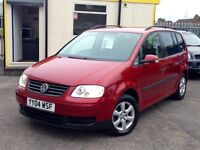 2004REG VW TOURAN 7SEATTER DIESEL CAR WITH CAMBELT BEEN REPLACE