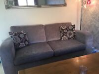 2 seater & 3 seater DFS sofas & Footstool