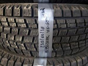 1 winter tire bridgestone blizzak ws-50 235/60r16