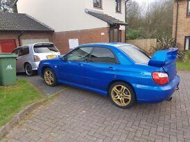 Subaru impreza wrx 260bhp sti rep px swap bmw