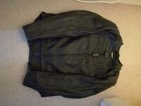 Triumph Black Leather Jacket