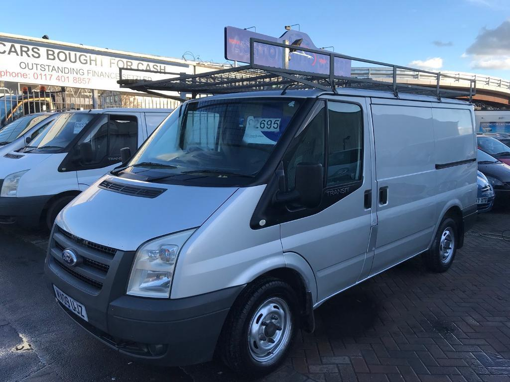 2009 09 FORD TRANSIT SWB IN SILVER SUPERB DRIVE EX COMPANY OWNED WELL MAINTAINED NEW MOT NO VAT ****