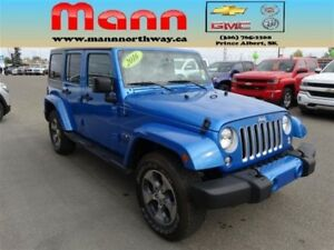 2016 Jeep WRANGLER UNLIMITED SAHA | V6, 4WD, Navigation, Remote