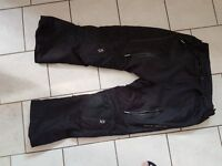 Mens biker trousers xxl