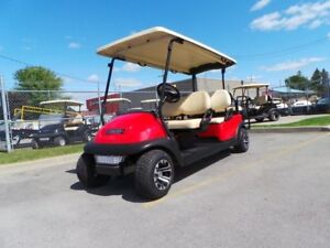 2014 Club Car Precedent 6 Passenger Stretch Golf Cart  Electric