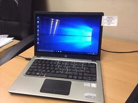 HP Folio 13-2000 Ultrabook. Windows 10. Intel i5. 4GB RAM. SSD. Great Price!