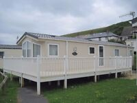 For sale. Pre-owned static caravan holiday home with huge decking. Payment options available. Devon.