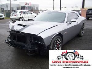 2015 Dodge Challenger SRT8 392 HEMI 2 BALLONS DASH OK EN MARCHE