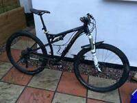 "Salsa horsethief 29er full suspension mountain bike 18"""