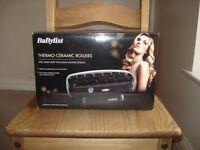 BaByliss Thermo Ceramic Rollers, just like NEW!