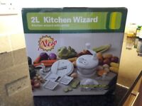Brand new 2 Litre Kitchen Wizard with Whisk (still in it's original box!)