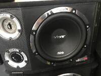 12 inch vibe subwoofer with built in amp
