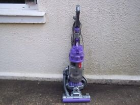 DYSON DC15 BALL UPRIGHT BAGLESS VACUUM, CLEANED & WORKING