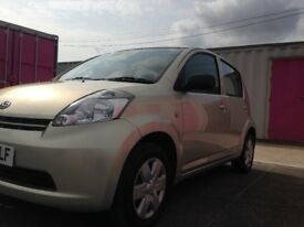 2007 DAIHATSU SIRION 998 CC PETROL MANUAL FULL YEARS ROAD TAX £30 £ 1199 NO VAT