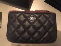 Chanel small black pouch never used