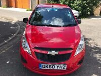 2010 Chevrolet Spark 1.0 + 5dr WARRANTED LOW MILEAGE Low Insurance Group @07445775115