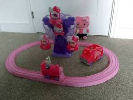 Hello Kitty Train & Ferris Wheel plus Bonus Items