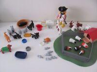 playmobil vet and animals