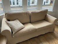 Pullout sofa bed and mattress