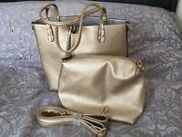 Kris-Ana Tote with insert clutch bag