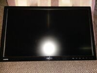 """ASUs VS229 1080P 22"""" Monitor with desk mounting pole"""