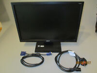 """19"""" Widescreen ACER monitor V193W with cables and original box + packaging for easy transport"""