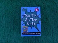 Maths is Fun. Brand New Fraction Action Snap.