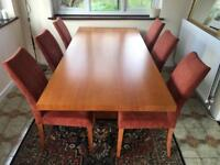 John Lewis dining table and chairs Tokyo design range