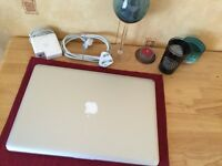 "Apple MacBook Pro 15"" * quad core i7 * Late 2011 * 8GB * 120GB SSD"