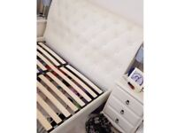 Double bed frame ( real leather )