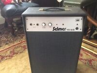 vintage selmer amp came from a church real retro look