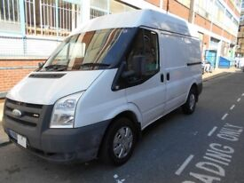 2013 FORD TRANSIT 2.2TDCI T300 MID HIGH ROOF PANEL VAN YEAR MOT EURO 5 BLUETOOTH ELECTRIC PACK VGC