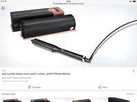 GHD Curve Wand with Limited Edition Rose Gold Bag and heat resistant mat