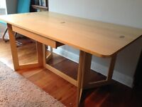 Habitat extendable dining table - can be used as console table.