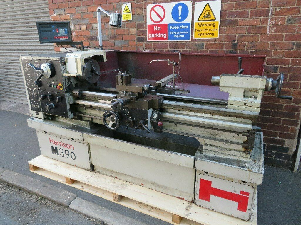 Harrison M390 Centre Lathe Metalworking 3 Phase 1250mm Between Centres | in  Castleford, West Yorkshire | Gumtree