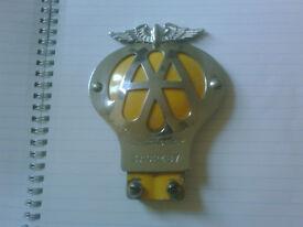 AA badges x2