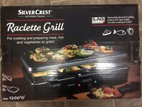 Silver Crest Raclette Grill